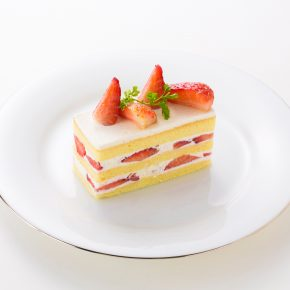Strawberry Short Cake (Slice)