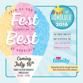 2016 Best of Honolulu Festival