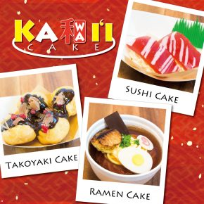 Theme for May is Kawai'i Cake | 5月のテーマは 「Ka和i'i Cake」