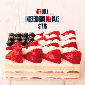 Independence Day Cake | 独立記念日ケーキ