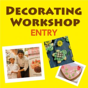 Cookie Decorating Workshop for Kids in Summer 2017