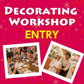 """Cookie Decorating Workshop for Kids """"2017 Chiristmas"""""""