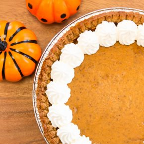 Special Pumpkin Pie for Thanks Giving |期間限定パンプキンパイ