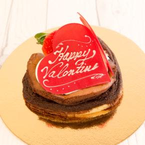 Happy Valentine's Day! | バレンタインチョコレートケーキ