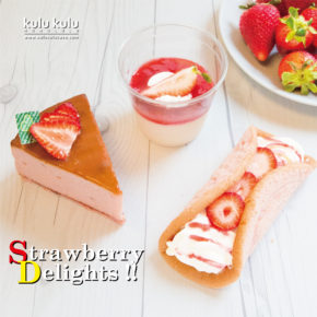Strawberry Fair | 6月はイチゴフェア!