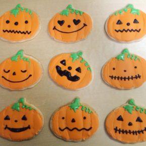 Halloween Decorationg Workshop for Kids 10/21/2018 | ハロウィンこどもクッキー教室開催