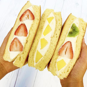 Souffle Pancake Sandwiches for JULY | 7月はスフレパンケーキサンド