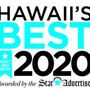 HAWAII'S BEST 2020 FINALIST   2020年HAWAII'S BESTファイナリスト