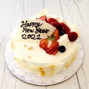 New Years Strawberry Shortcake | 年末年始スペシャルショートケーキ