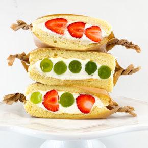 Souffle Pancake Sandwiches for September | 9月はスフレパンケーキサンド